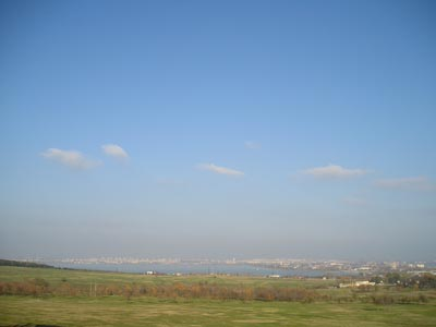 вид на акваторию Черного моря г. Бургас