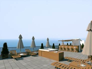 Жилой комплекс Gallery, Болгария, вид с крыши