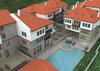 Жилой комплекс г.Мелник, Болгария