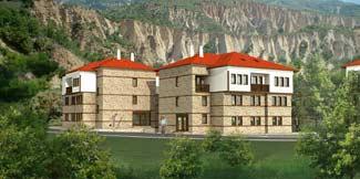 Жилой комплекс, г.Мелник, Болгария